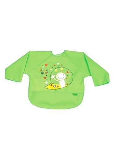 Baby Jem Poli Muşamba Kollu Önlük  Yeşil
